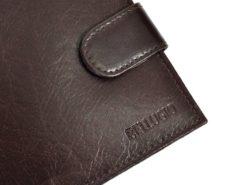 Bellugio Man Leather Wallet Black AM-21-213-6962