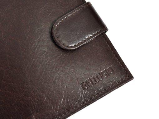 Bellugio Man Leather Wallet Brown AM-21-213-6974