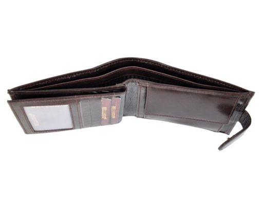 Bellugio Man Leather Wallet Black AM-21-213-6971