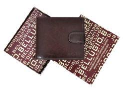 Bellugio Man Leather Wallet Brown AM-21-213-6977