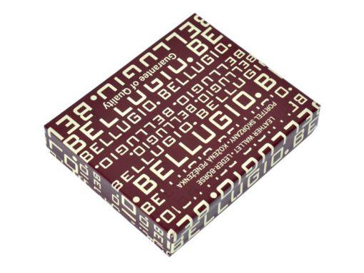 Bellugio Man Leather Wallet Brown AM-21-213-6984