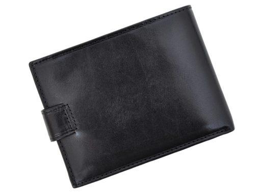 Emporio Valentini Man Leather Wallet Black IEEV563320-6828
