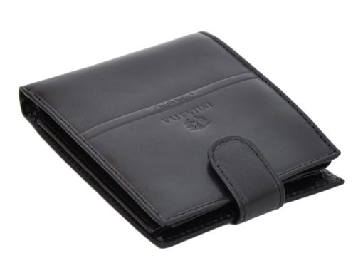 Emporio Valentini Man Leather Wallet Black IEEV563320-6825