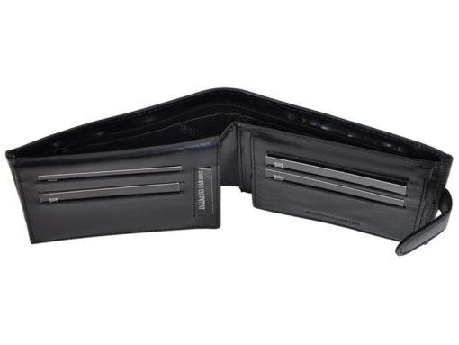 Emporio Valentini Man Leather Wallet Black IEEV563320-6823