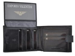 Emporio Valentini Man Leather Wallet Brown IEEV563320-6803