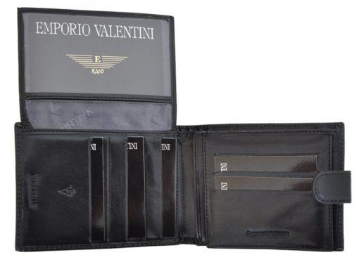 Emporio Valentini Man Leather Wallet Black IEEV563320-6821