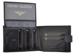 Emporio Valentini Man Leather Wallet Black IEEV563320-6818