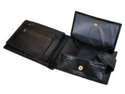 Emporio Valentini Man Leather Wallet Black IEEV563320-6815