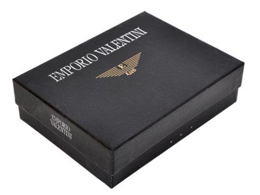 Emporio Valentini Man Leather Wallet Black IEEV563320-6830