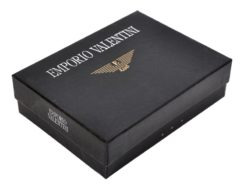 Emporio Valentini Man Leather Wallet Black IEEV563 260-6835