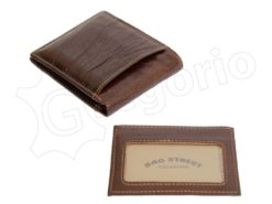 Wild Things Only Man Leather Wallet Black IEWT5152/5509-6989