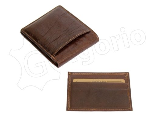Wild Things Only Man Leather Wallet Brown IEWT5152/5509-7005