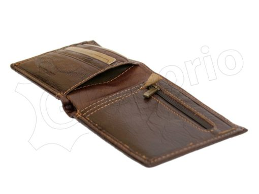 Wild Things Only Man Leather Wallet Brown IEWT5152/5509-7007