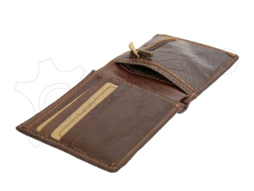 Wild Things Only Man Leather Wallet Brown IEWT5152/5509-7008