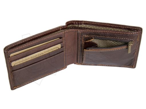 Wild Things Only Man Leather Wallet Brown IEWT5152/5509-7000