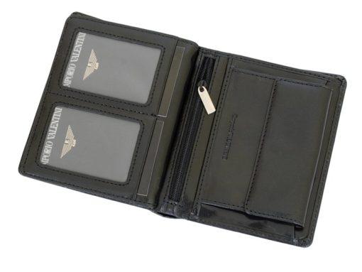 Emporio Valentini Man Leather Wallet Black IEEV563PL03-6890