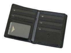 Emporio Valentini Man Leather Wallet Black IEEV563PL03-6891
