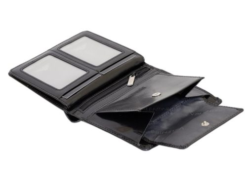 Emporio Valentini Man Leather Wallet Black IEEV563PL03-6885