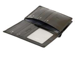 Emporio Valentini Man Leather Wallet Black IEEV563PL03-6895