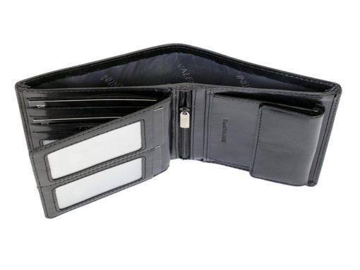 Emporio Valentini Man Leather Wallet Black IEEV563PL03-6886