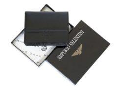 Emporio Valentini Man Leather Wallet Black IEEV563PL03-6888