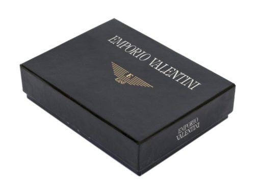 Emporio Valentini Man Leather Wallet Black IEEV563PL03-6883
