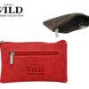 Always Wild Leather Keys Wallet Red-7083