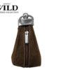 Always Wild Leather Keys Wallet Brown-7078