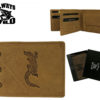 Always Wild Man Unique Leather Walletwith Chain-7069