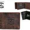 Always Wild Man Unique Leather Wallet-7065
