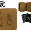Always Wild Man Unique Leather Wallet-7063