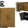 Always Wild Man Unique Leather Walletwith Chain-7067
