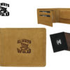 Always Wild Man Unique Leather Wallet-7061