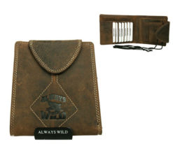 Passport Documents Holder Always Wild Brown-7072