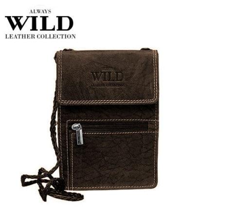 Passport Documents Holder Always Wild Brown-7053