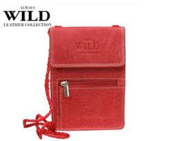 Passport Documents Holder Always Wild Red-7051