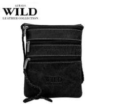 Passport Documents Holder Always Wild Black-7087