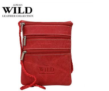 Passport Documents Holder Always Wild Red-7091