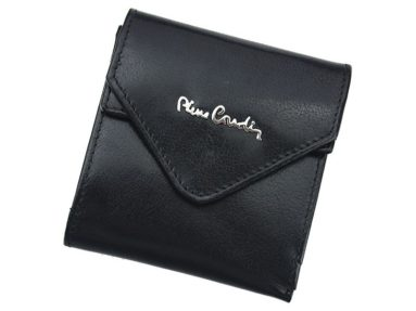 Pierre Cardin Unique Leather wallet small black-7113