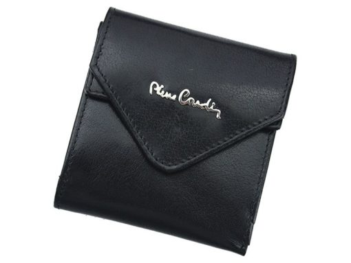 Pierre Cardin Unique Leather wallet small black-7113