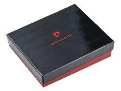 Pierre Cardin Unique Leather wallet small black-7112