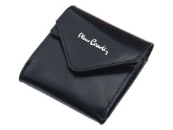 Pierre Cardin Unique Leather wallet small black-7115
