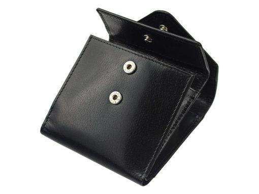 Pierre Cardin Unique Leather wallet small black-7114