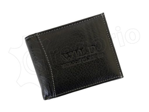 Medium Size Wild Things Only Man Leahter Wallet Light Brown-7177