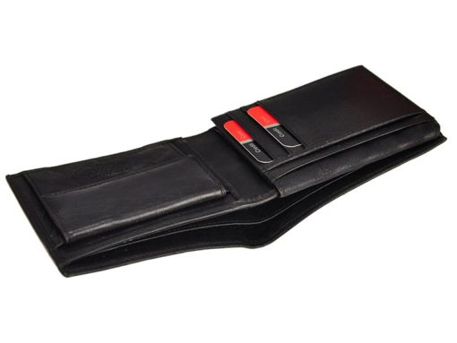 Pierre Cardin Unique Leather Wallet for Men Cognac-7242