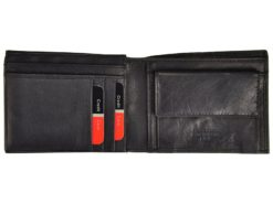 Pierre Cardin Unique Leather Wallet for Men Cognac-7239