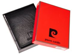 Pierre Cardin Unique Leather Wallet for Men Cognac-7237
