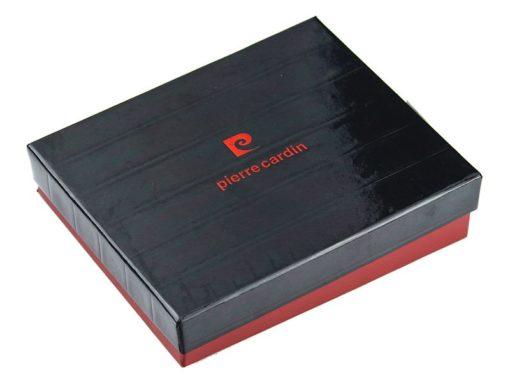 Pierre Cardin Unique Leather wallet small cognac-7247
