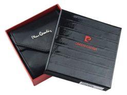 Pierre Cardin Unique Leather wallet small cognac-7252