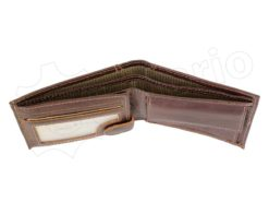 Medium Size Wild Things Only Man Leahter Wallet Light Brown-7173